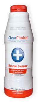 Detox Drink Rescue Cleanse Blue by Rescue Cleanse 20oz Strength Clear Choice