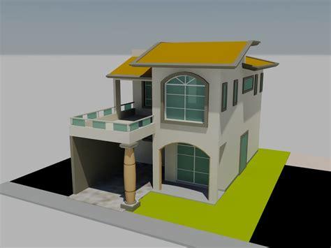 habitacion 3d planos de casa habitaci 243 n en 3d en dwg autocad vivienda