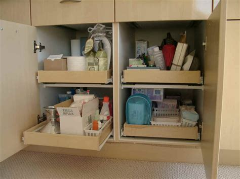 bathroom vanity slide out shelves pull out shelving for bathroom cabinets storage solution