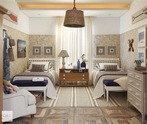 ideias de como decorar um quarto de praia quartos