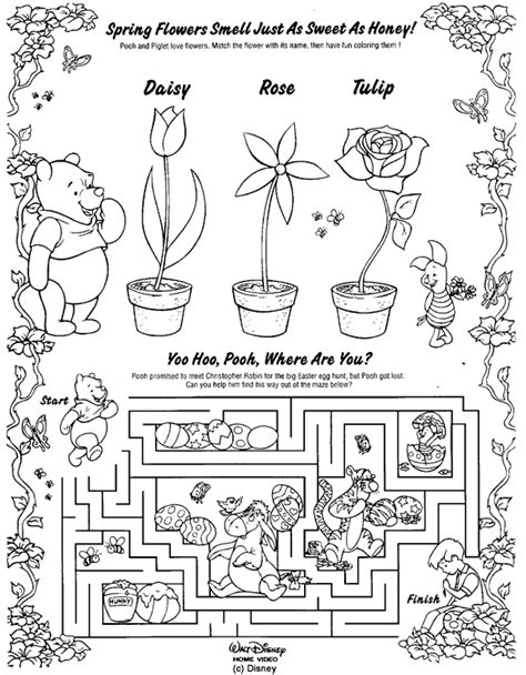 coloring pages book games eeyore s thistly hideaway coloring book