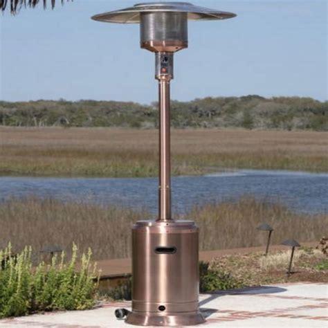 fire sense copper commercial patio heater dfohome