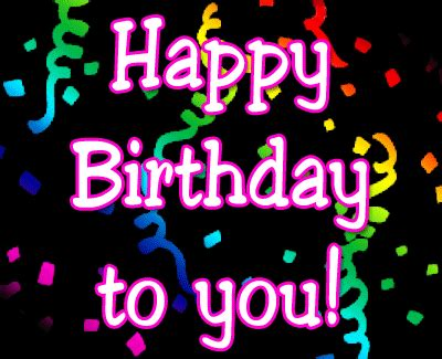 Animated Happy Birthday Wishes For Birthday Animated Images