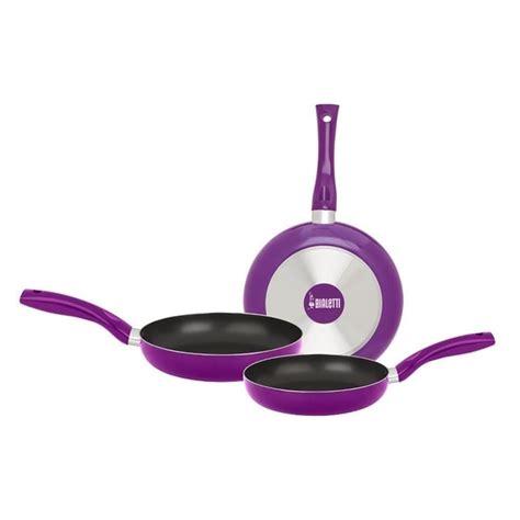 violet set 3 set tigai bialetti easy color violet 3 piese 20 24 28 cm