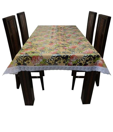 dining table cover transparent decor club dining table cover transparent printed 6 seater