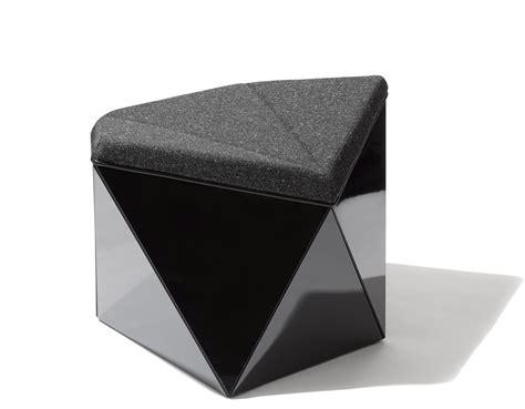 prism chair and ottoman washington prism ottoman hivemodern com