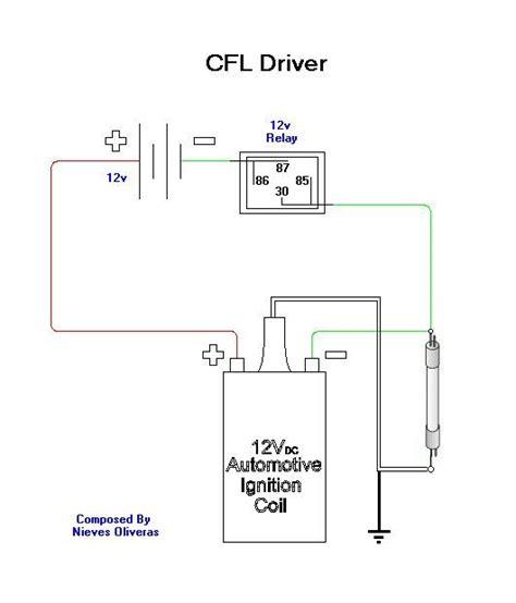 thief circuit diagram joule thief cfl circuit diagram circuit and schematics