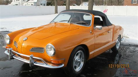 1971 volkswagen karmann ghia convertible low miles