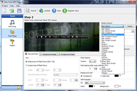 convert flash to mp flash mp3 player builder download