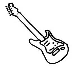 electric guitar coloring page free coloring pages of electric guitar