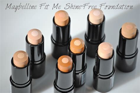 Maybelline Fit Me maybelline new york fit me shine free foundation