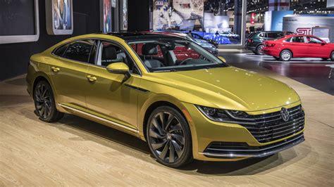 Vw 2019 Arteon by 2019 Vw Arteon Four Door Coupe Revealed For U S Autoblog