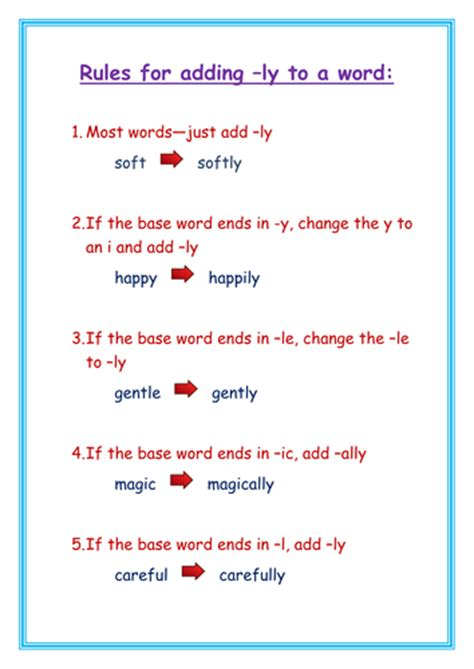 ly pattern words adding suffixes by jomax766 uk teaching resources tes