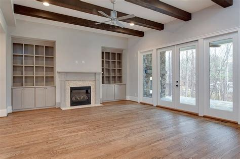 living room bookshelves and cabinets fireplace built in cabinets transitional living room