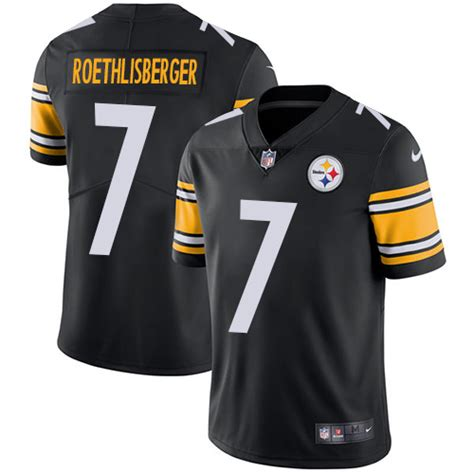 youth black ben roethlisberger 7 jersey a lifetime p 360 nike steelers 7 ben roethlisberger black team color youth