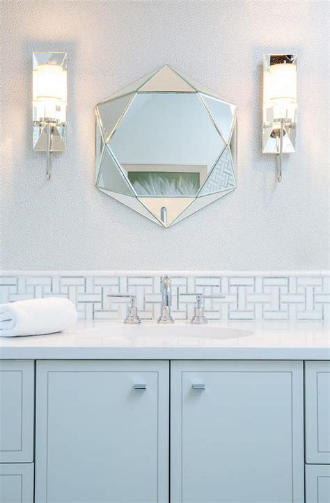 blue bathroom mirror blue mosaic bathroom mirrors bathroom design ideas