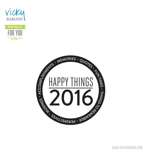 printable memory jar labels happy things memory jar 2016 vicky barone