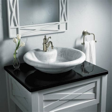 sink that sits on top of counter advice on vessel type bathroom sinks