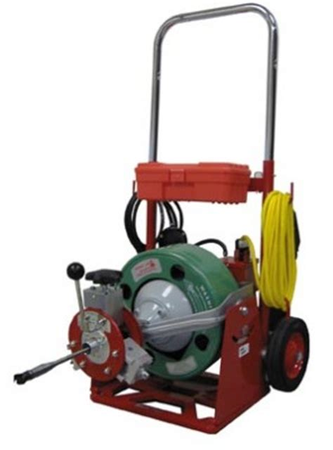 Spartan Plumbing Equipment by Drain Cleaning Machines Buyers Guide Media