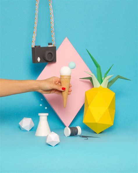 Creative Papercraft - awesome papercrafts used in design for your inspiration
