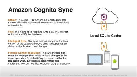 amazon cognito aws mobile services amazon cognito identity broker and
