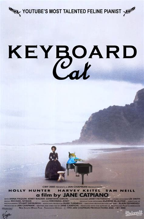 Keyboard Cat Meme - grumpy cat does life of pi click image for full size