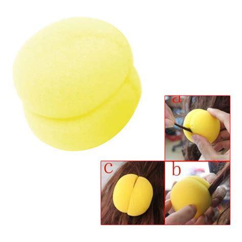Jovana Sponge Hair Styler Curler Roller by Free Yellow Sponge Hair Styler Curler Roller Tool