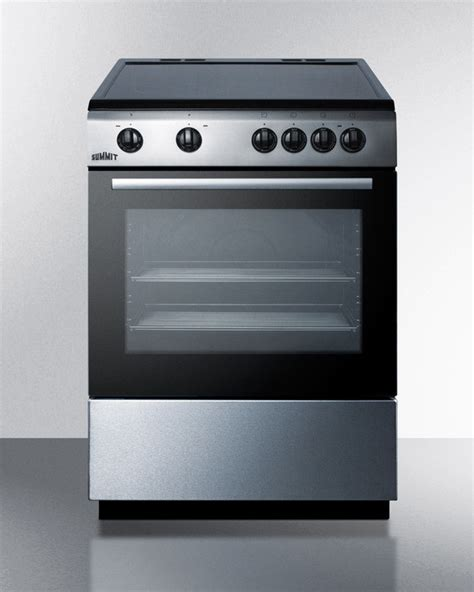 bottom drawer on electric oven summit clre24 24 inch freestanding electric range with 4