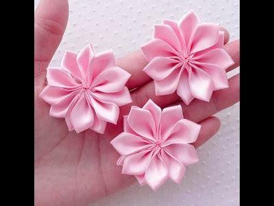 Bros Klip Permata kanzashi brooch gem balloon d i y kanzashi flower how