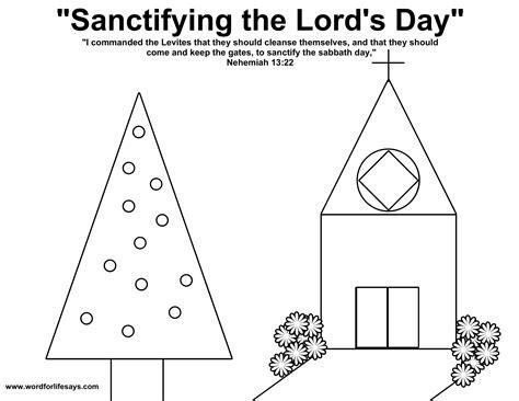honoring the sabbath sunday school lesson luke 6 1 11