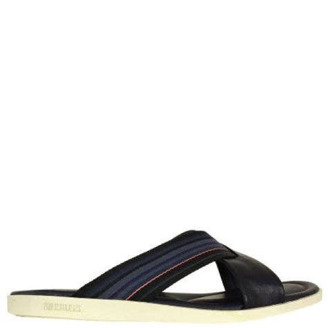 elephant rubber sts paul smith mens lalo sandals in blue for lyst