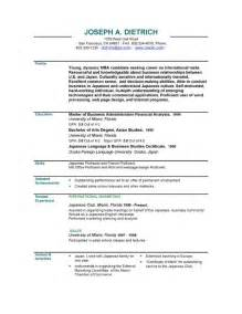 Sample Resume Template Download Executive Resumes Executive Resume Sample Templates