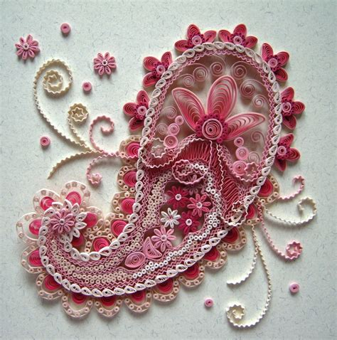 Paper Quilling - the of paper filigree into craft