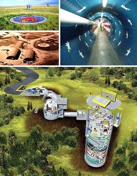nuclear family housing life   real missile silo home