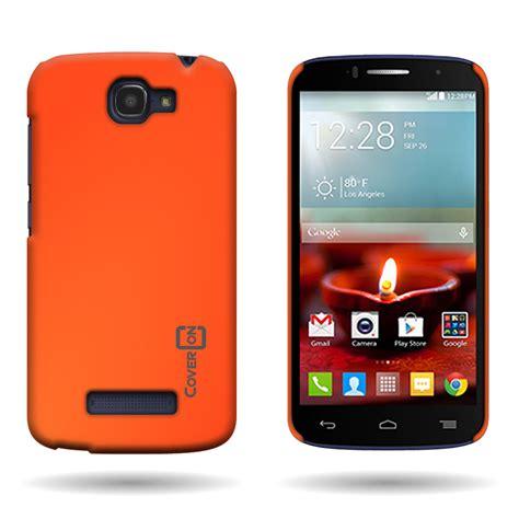 alcatel phone cases for alcatel one touch fierce 2 slim back rubberized