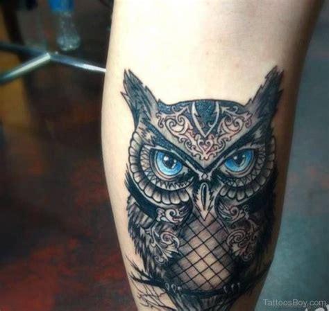 73 elegant owl tattoos on leg