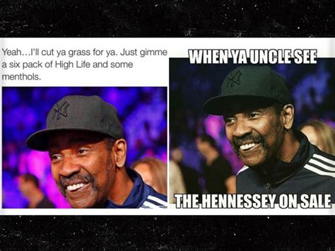 Denzel Washington Memes - denzel washington says moustache meme trolls are losers