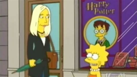 K Simpsons by J K Rowling On The Simpsons