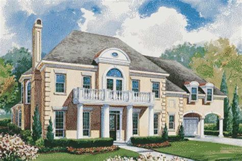 french colonial house plans house plan 120 1954 4 bedroom 4345 sq ft colonial french home tpc
