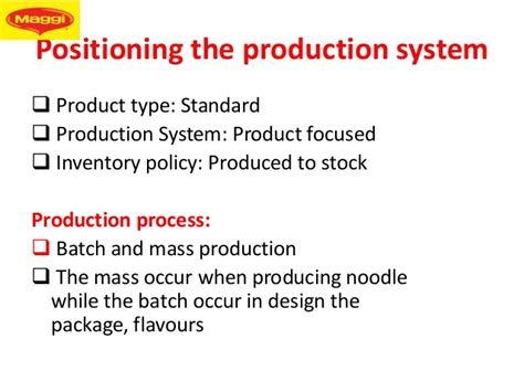 nestle layout strategy operational strategies of maggi