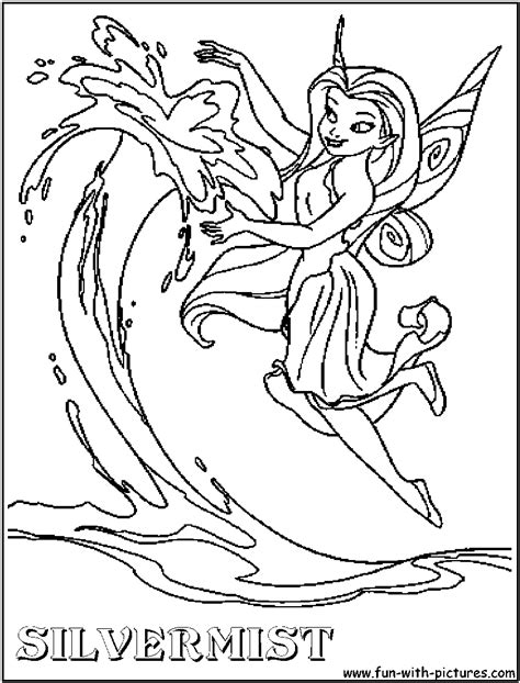 tinkerbell birthday coloring pages silvermist tinkerbell coloring page birthday pinterest