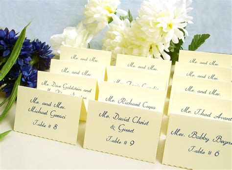 Wedding Place Cards by Items Similar To Wedding Place Cards Tented Cards