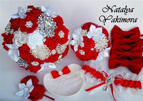 Wedding Bouquet Toss by Brooch Bouquet Bridal Bouquet Wedding Bouquet Fabric