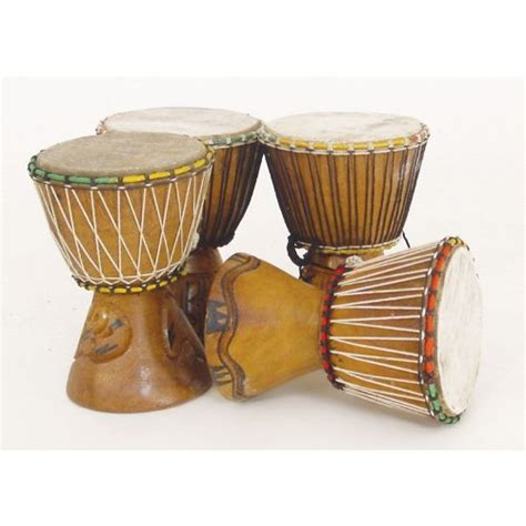 Handmade Drums - 7 quot small authentic handmade djembe drum