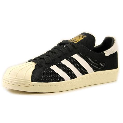 mens shoes adidas superstar 80 primeknit synthetic sneakers black adidas for sale adidas