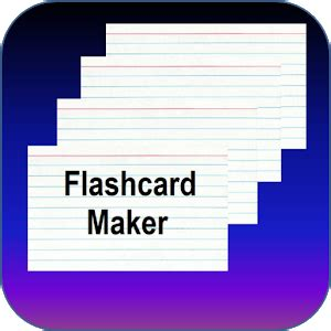 flash card maker best flashcard maker ad free android apps on google play