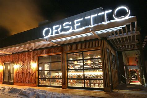 The Kitchen Jackson Wy by Orsetto Jackson Restaurants Dining