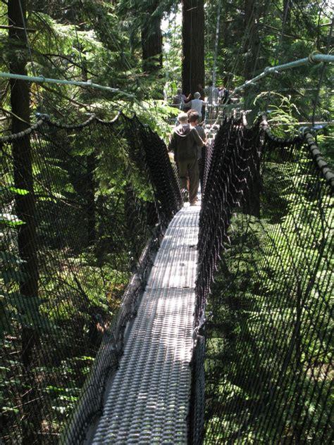 Greenheart Canopy Walk Inside Ubc Pharm Sci Ubc Botanical Gardens