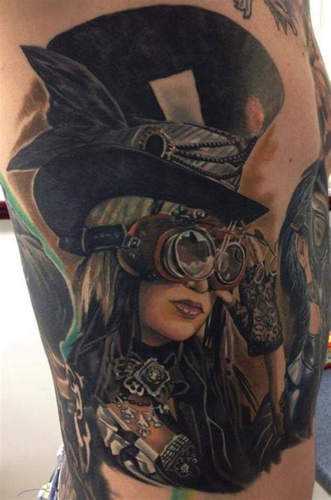 25 awesome steampunk tattoo designs art and design