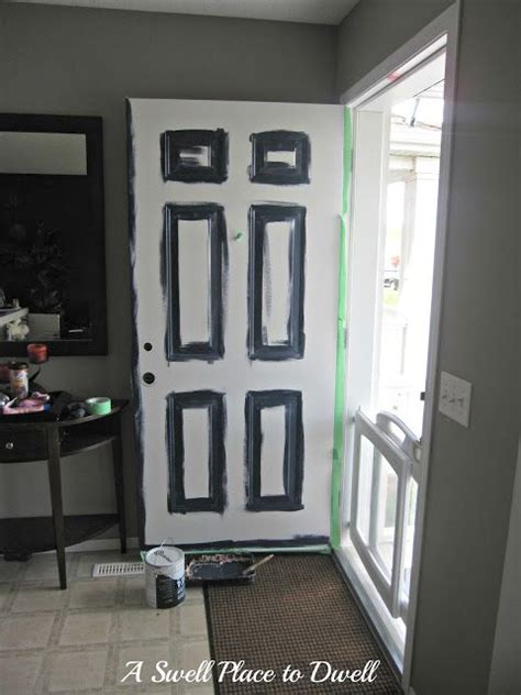 superb paint a metal front door how to paint a metal front 21 best images about foyer ideas on pinterest